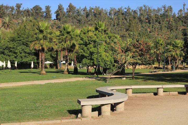 El Parque Bicentenario, la mayor área verde de la comuna