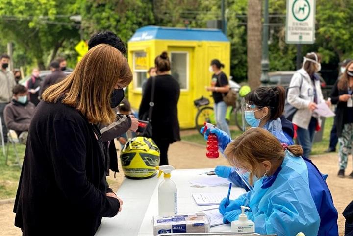 Gran demanda por los test PCR
