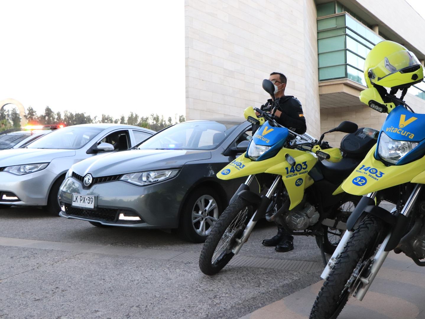 Más automóviles de seguridad para Vitacura